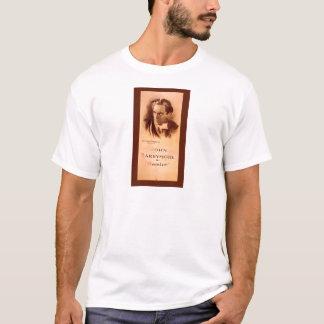T-shirt John Barrymore dans Hamlet Broadway 1922