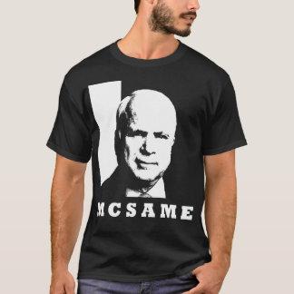 T-shirt John McCain = McSame