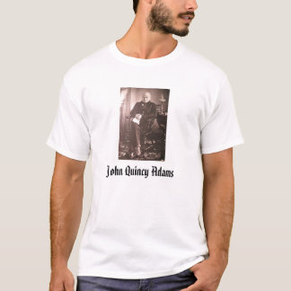 T-shirt John Quincy Adams