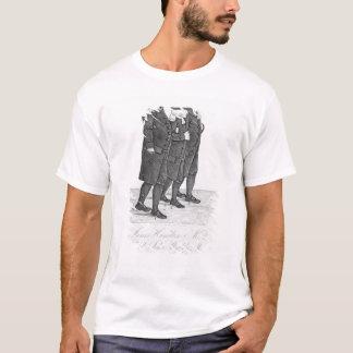 T-shirt John Wesley marchant à Edimbourg entre James