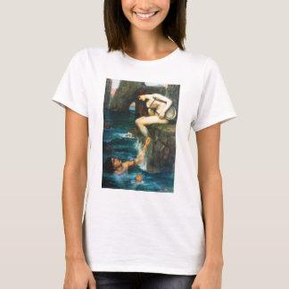 T-shirt John William Waterhouse la sirène
