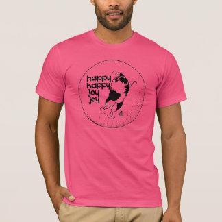 T-shirt Joie heureuse heureuse de joie de Keeshond