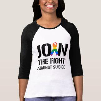T-shirt Joignez le combat contre le suicide gai