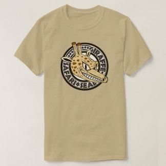 T-shirt Joint de safari de girafe