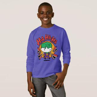 T-shirt Joker de Chibi avec des dents de jouet
