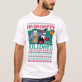 T-shirt Joker et Harley Quinn de Batman | bonnes fêtes