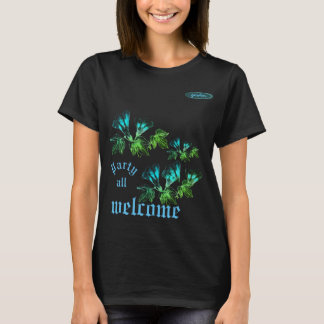 T-shirt Joli concepteur à la mode T/Shirt de pétales