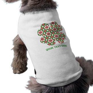 T-shirt Joli shamrock de kaléidoscope