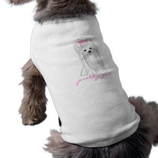 T-shirt Jolie fille maltaise