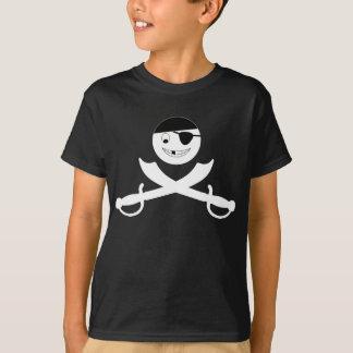 T-shirt Jolly roger souriant de visage