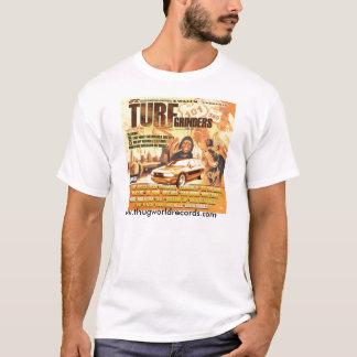 T-shirt jonez de Jill de broyeurs de gazon de couverture