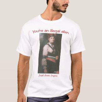 T-shirt Joseph Brant de l'Iroquois