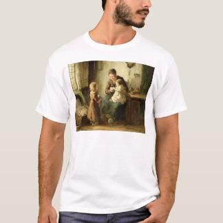 T-shirt Jouant avec le bébé, 19ème siècle