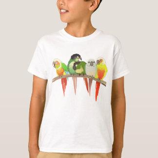 T-shirt Joue verte Conures