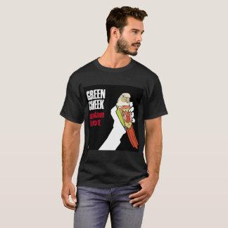 T-shirt Joue verte : Idiot aviaire (cannelle diluée)