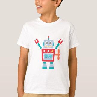 T-shirt Jouet mignon vintage de robot pour des enfants