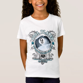 T-Shirt Joueur 9-Ball en filigrane de piscine