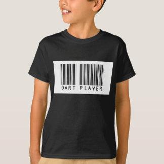T-shirt Joueur de dard de code barres