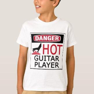 T-shirt Joueur de guitare chaud