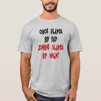 T-shirt Joueur de hautbois de tueur de zombi