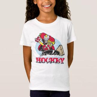 T-Shirt Joueur de hockey