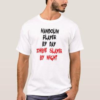 T-shirt Joueur de mandoline de tueur de zombi