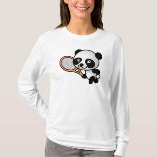 T-shirt Joueur de tennis de panda