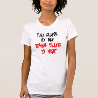 T-shirt Joueur de tuba de tueur de zombi