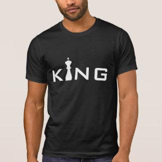 T-shirt Joueur d'échecs frais du Roi Typography