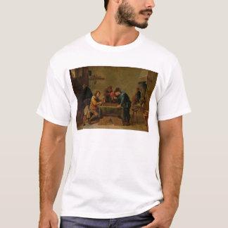 T-shirt Joueurs de backgammon, c.1640-45