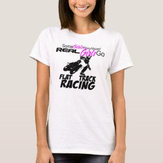 T-shirt Jouez la Chambre ou allez emballage plat de voie