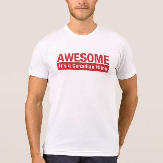 T-shirt Jour canadien impressionnant du Canada de chemise