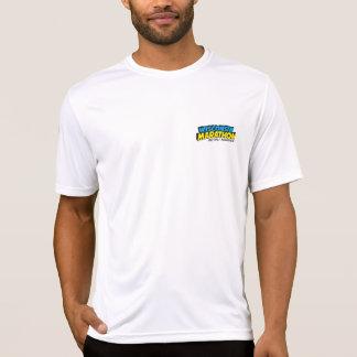 T-shirt Jour de course de marathon du Wisconsin