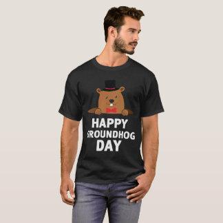 T-shirt Jour de Groundhog heureux