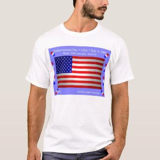 T-shirt Jour de la Déclaration d'Indépendance (avant)