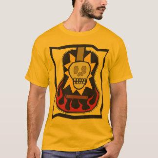 T-shirt Jour de la guitare morte de crâne