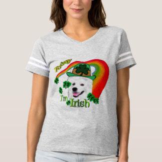 T-shirt Jour de la Saint Patrick américain de chien