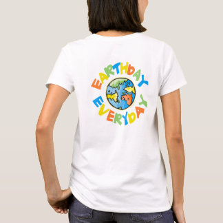 T-shirt Jour de la terre