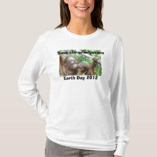 T-shirt Jour de la terre de faune