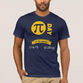 T-shirt Jour de pi du siècle