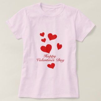 T-shirt Jour de Valentines heureux