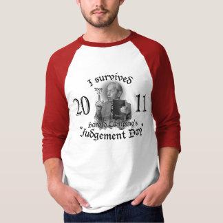 T-shirt Jour du jugement dernier le 21 mai 2011