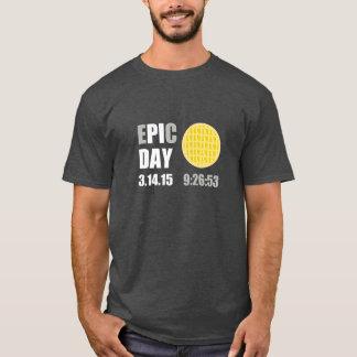"""T-shirt Jour épique de pi - le jour Apple de C d'E """" pi """""""
