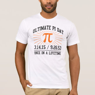T-shirt Jour final 2015 de pi