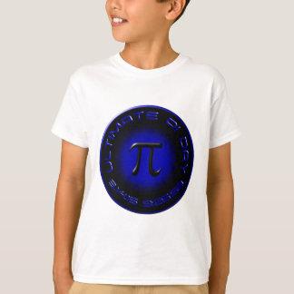 T-shirt Jour final 2015 de pi 3.14.15 9h26 : 53 (bleu)