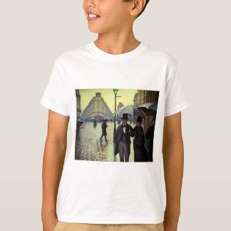 T-shirt Jour pluvieux de rue de Paris par Gustave