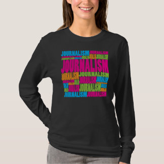 T-shirt Journalisme coloré