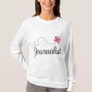 T-shirt Journaliste rose