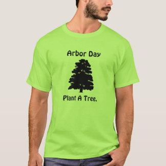 T-shirt Journée de l'arbre ; Plantez l'arbre d'A