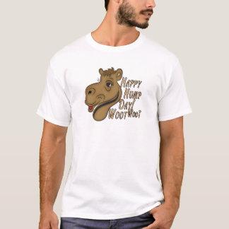 T-shirt Journée en milieu de semaine heureuse Woot Woot